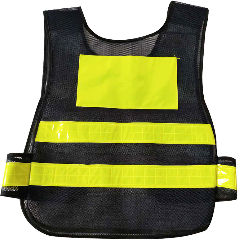 Customize Reflective Vest Traffic Safety Highlight EVA Farbic Vest Outdoor Safety Running High Visibility Reflective Vest