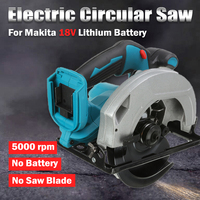 Electric Circular Saw Handle Power Tools Dust Passage 5000RPM Multifunction Cutting Machine For Makita 18V Battery