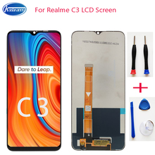 LCD Screen for Realme C3 LCD Display Digitizer Touch Screen Replacement RMX2027 RMX2021 RMX2020 Screen parts