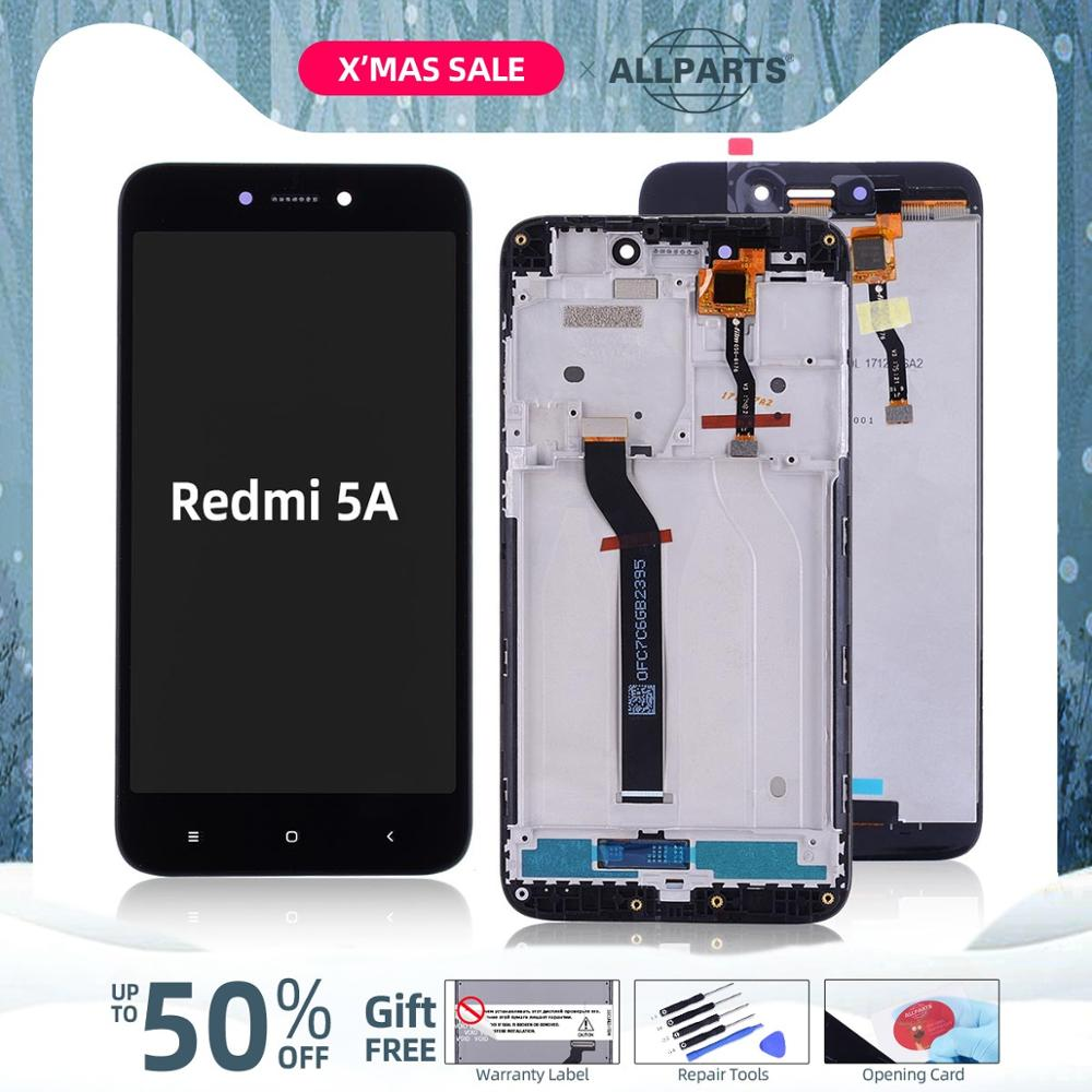 10-touches 5.0'' Original Display For Xiaomi Redmi 5A LCD Touch Screen With Frame Replacement For Xiaomi Redmi 5A Display LCD