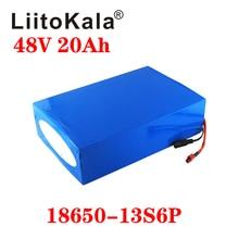 Liitokala 48 V 20AH High Power 1000W Elektrische Fiets Batterij 48 V 20AH E Bike Batterij 48 Volt lithium Batterij Met Bms 2A Lading