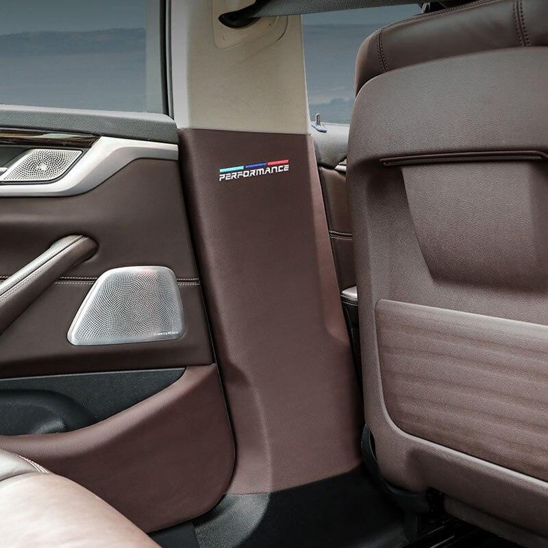 La puerta del coche Anti-Tiro Pad de cuero de PVC protección de puerta película pegatinas para BMW G38 G20 G28 F49 G01 G02 G08 F52 F39 F16 F34 X6 X3 X4 X1