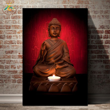 3 Pieces/set Wall Art Canvas Painting  Modern Printed Buddha Painting Picture Buddha Paintings  For Living Room Unframed coffee printed unframed split wall art canvas paintings