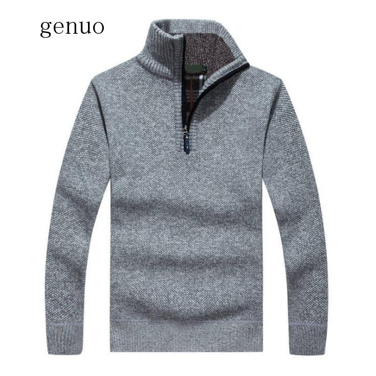 New High Quality Brand Thickness Wool Sweater Men Turtleneck Sweater Mens Winter Jumpers Sweaters Mens Jacket Pullover