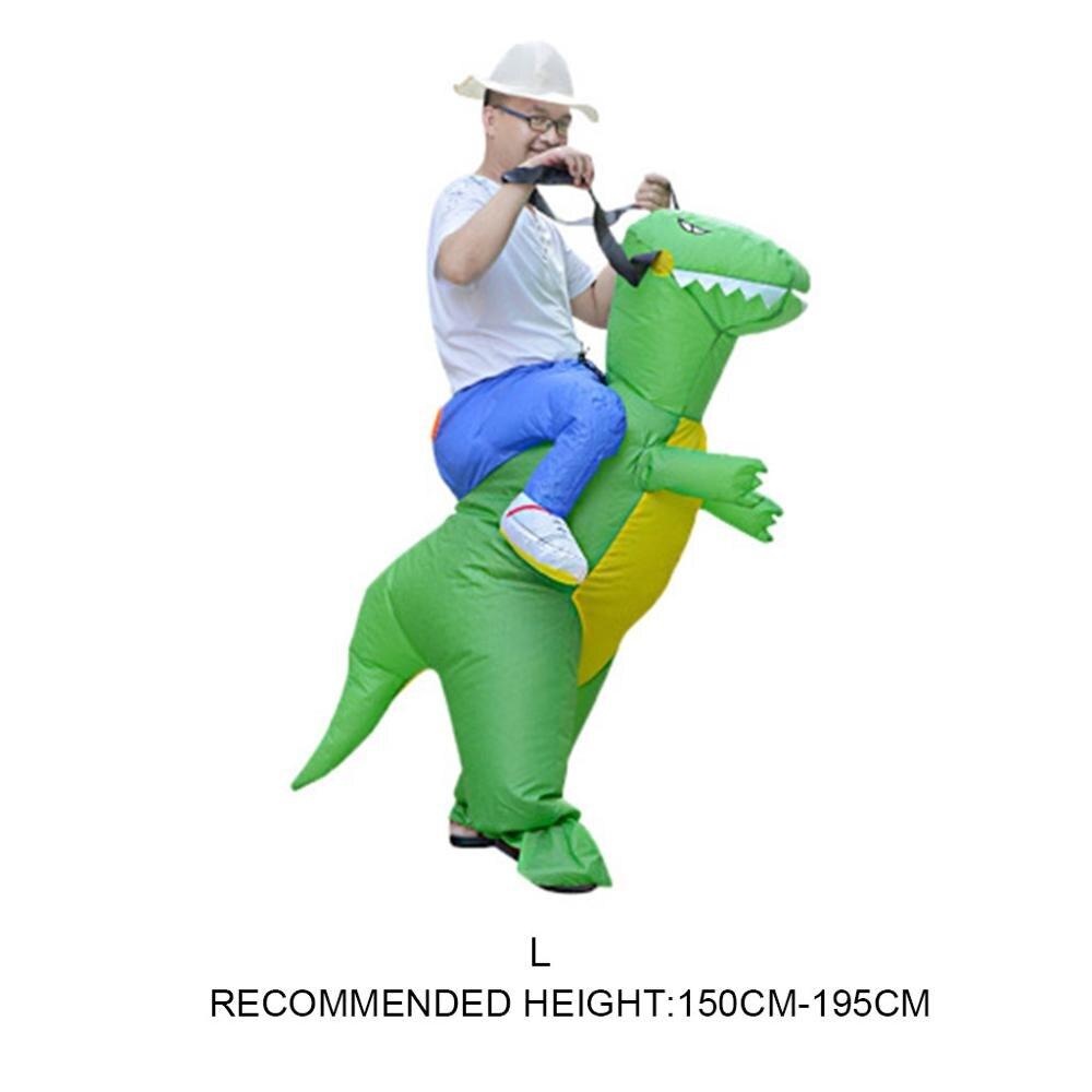 Inflatable Animal Dinosaur Halloween Party Costume Three-dimensional Rideable Dinosaur Mount Dress