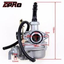 TDPRO 50cc 90cc 110cc 125cc 19mm Racing Carburetor Carby with Fuel Tap Motorcycle Dirt Pit Pocket Bike Quad ATV Go Kart Buggy