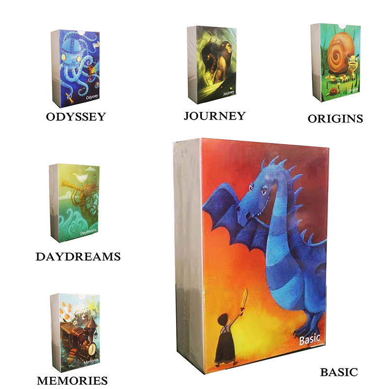 84 Cards English Just A Word DIXIT Cards Board Games Family Party Deck Card