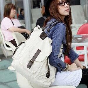 Image 4 - Bolsas Feminina Large capacity Pocket Casual Tote Womens Handbag Shoulder Bag Canvas Leather Capacity beach bags For Women 2019