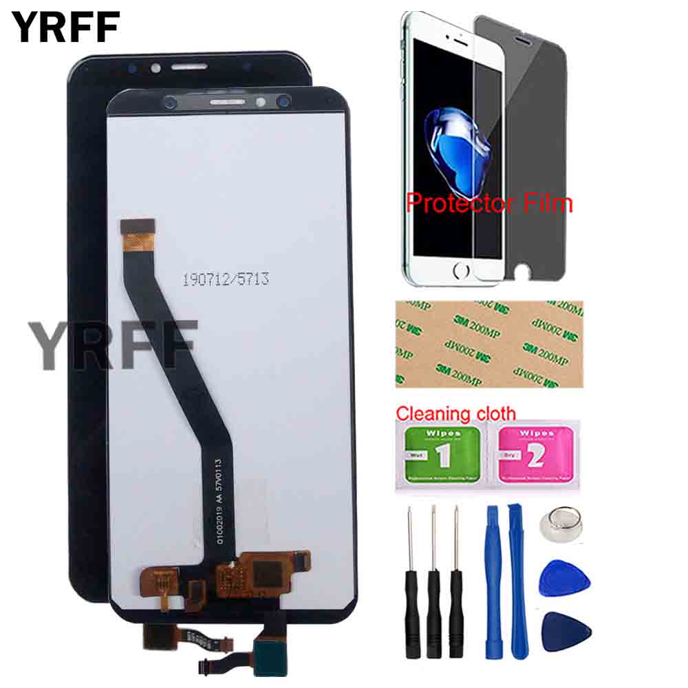 LCD Display For <font><b>Huawei</b></font> Honor 7A DUA L02 L22 LX2 LCD Display Touch Screen Digitizer LCD Y5 Prime 2018 LCD <font><b>DRA</b></font> <font><b>L21</b></font> LX3 Sensor Tool image