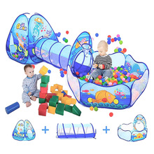 Tent Ball Playpen Tunnel Park Pool Pit Baby Portable Kids Children Large with Camping