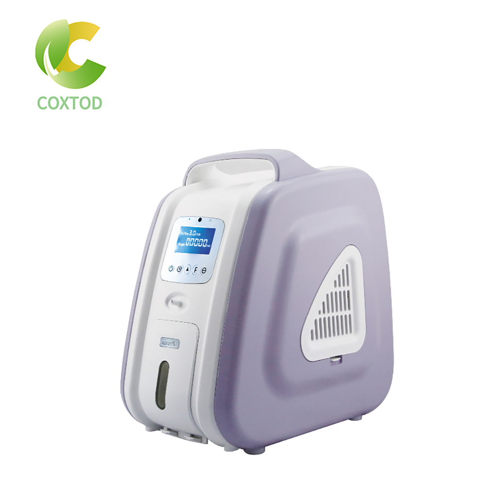 COXTOD Oxygen Concentrator 110V/220V Oxygen Concentration 3L 90% LED Display Air Purifier Portable System-board Oxygen
