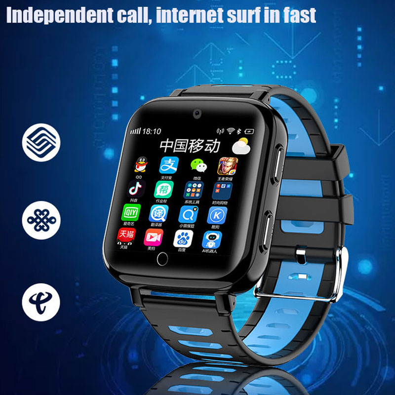 2019 Newest <font><b>Smart</b></font> <font><b>Watch</b></font> Android System Wifi GPS Tracker Phonewatch IP68 Waterproof <font><b>Kids</b></font> GPS <font><b>Watch</b></font> Anti Lost PK <font><b>Q528</b></font> Q90 q50 a36 image