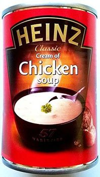 Soupe au poulet Heinz 6 x 290gm