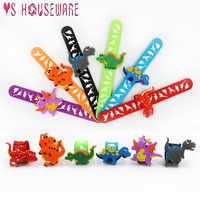 New Dinosaur Party Rubber Bracelet Dinosaur Birthday Party Decoration Kids Baby Shower Boy Decoration Event Party Favors June 9