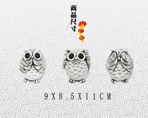 Image 4 - Uil Beeldjes Decoratie Dieren Ornamenten Home Decoratie Accessoires Kantoor Ambachtelijke Kunstwerk Decoratie Huwelijksgeschenken Keramiek