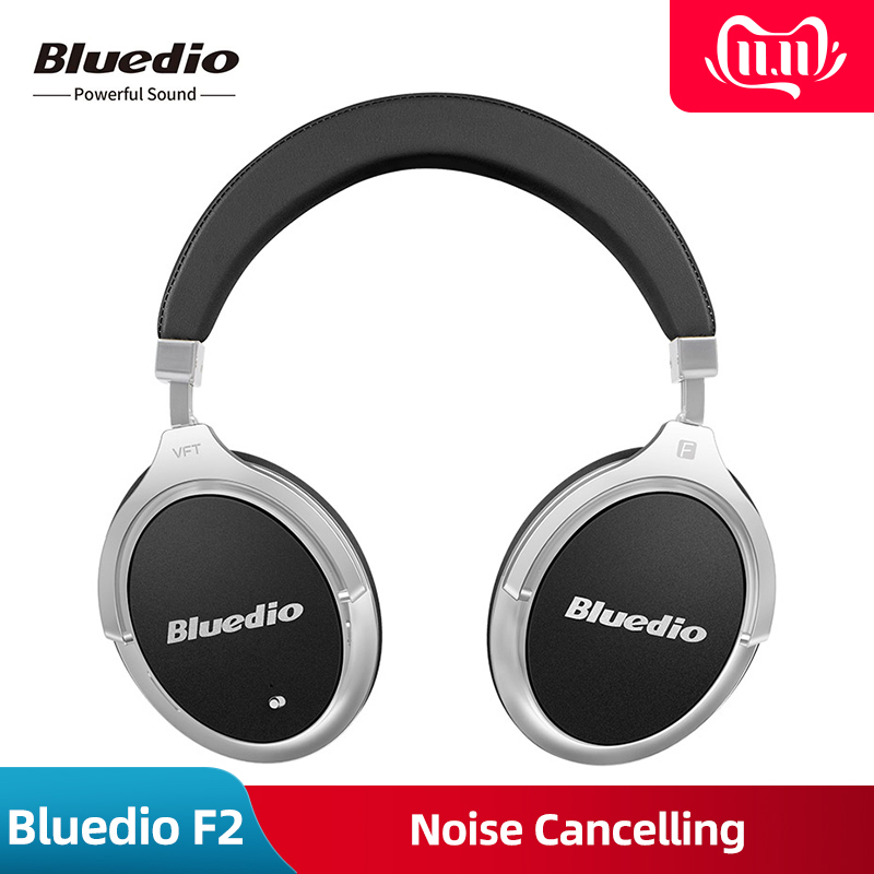Original Neue Bluedio F2 Aktive <font><b>Noise</b></font> <font><b>Cancelling</b></font> Wireless <font><b>Bluetooth</b></font> Kopfhörer wireless Headset mit Mikrofon für handys iPhone image
