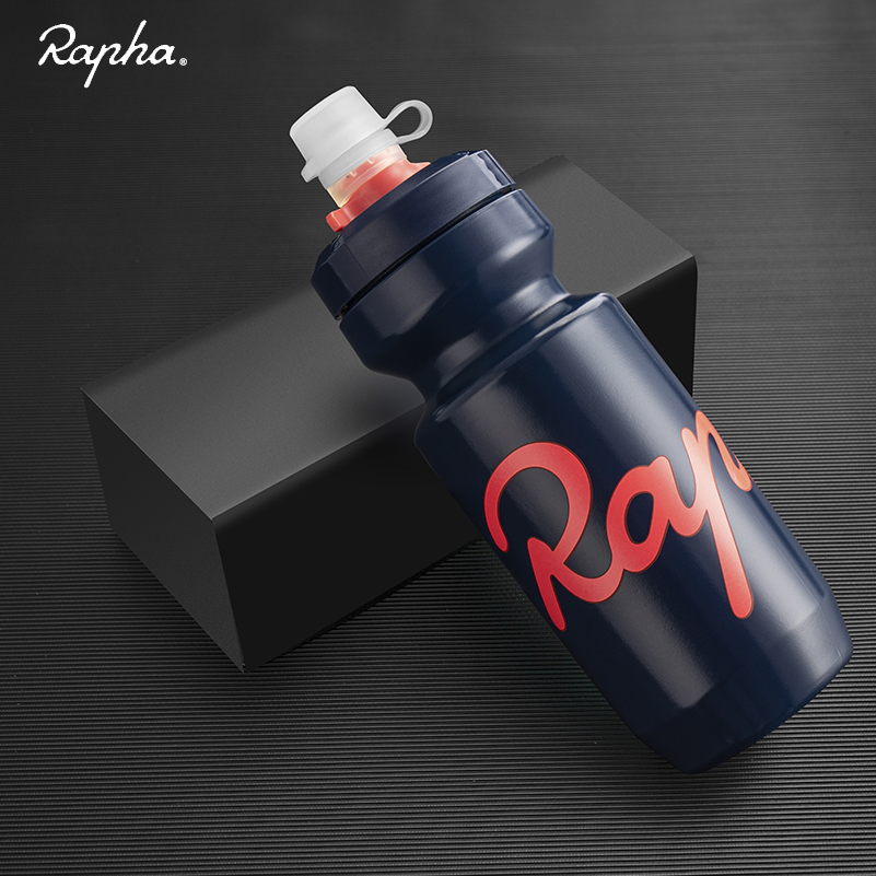 Rapha Cycling Water Bottle 750ml Leak-proof Squeezable Bottle Taste-free BPA-free Plastic Camping Hiking Sports Water Bottle