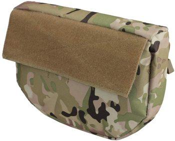 Tactical Dump Drop Pouch, Armor Carrier Drop Pouch Hunting EDC Utility Bag Combat Gear  for AVS JPC CPC AVS Tactical Vest 6