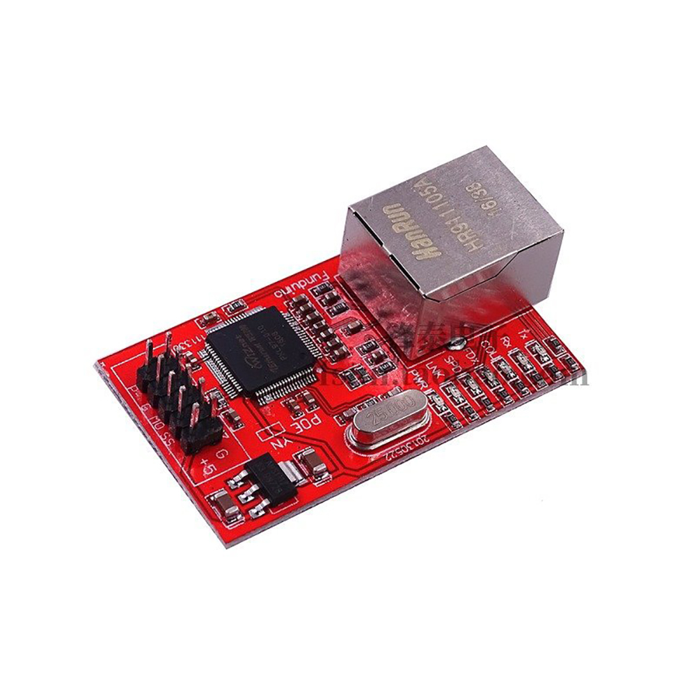 OULLX Mini W5100 LAN Ethernet Shield Network Board Module R3 W5100 3.3V Compatible For Ethernet UNO Mega 2560 4