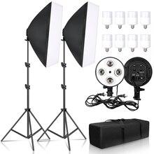 Photo Studio 50x70CM Softbox Lighting Kit Continuous System