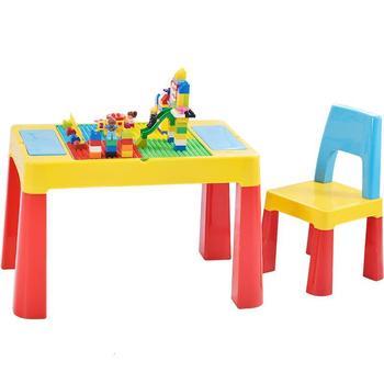 Per Bambini Children Y Silla Avec Chaise De Estudio Plastic Game Kindergarten Mesa Infantil Study For Bureau Enfant Kids Table