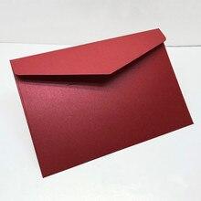 40 יח\אריזה מערבי מעטפות בציר 250gsm פרל נייר עסקים, חתונה, מסיבה, Anniversity מעטפות 193mmX133mm