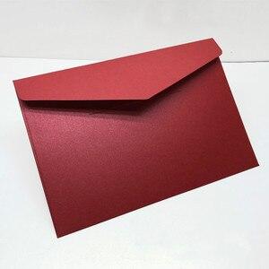 Image 1 - 40 יח\אריזה מערבי מעטפות בציר 250gsm פרל נייר עסקים, חתונה, מסיבה, Anniversity מעטפות 193mmX133mm