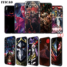 IYICAO Overlord Anime Soft Phone Case for iPhone 11 Pro XR X XS Max 6 6S 7 8 Plus 5 5S SE Silicone TPU