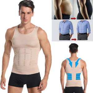 Underwear Corset Slimming-Vest Compression-Shirt Gynecomastia Belly-Control Waist-Trainer