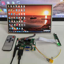 10.1 inç 1280*800 ekran HD dijital LCD monitör ekran yedekleme araba HDMI VGA AV ahududu Pi muz pi anahtar kurulu