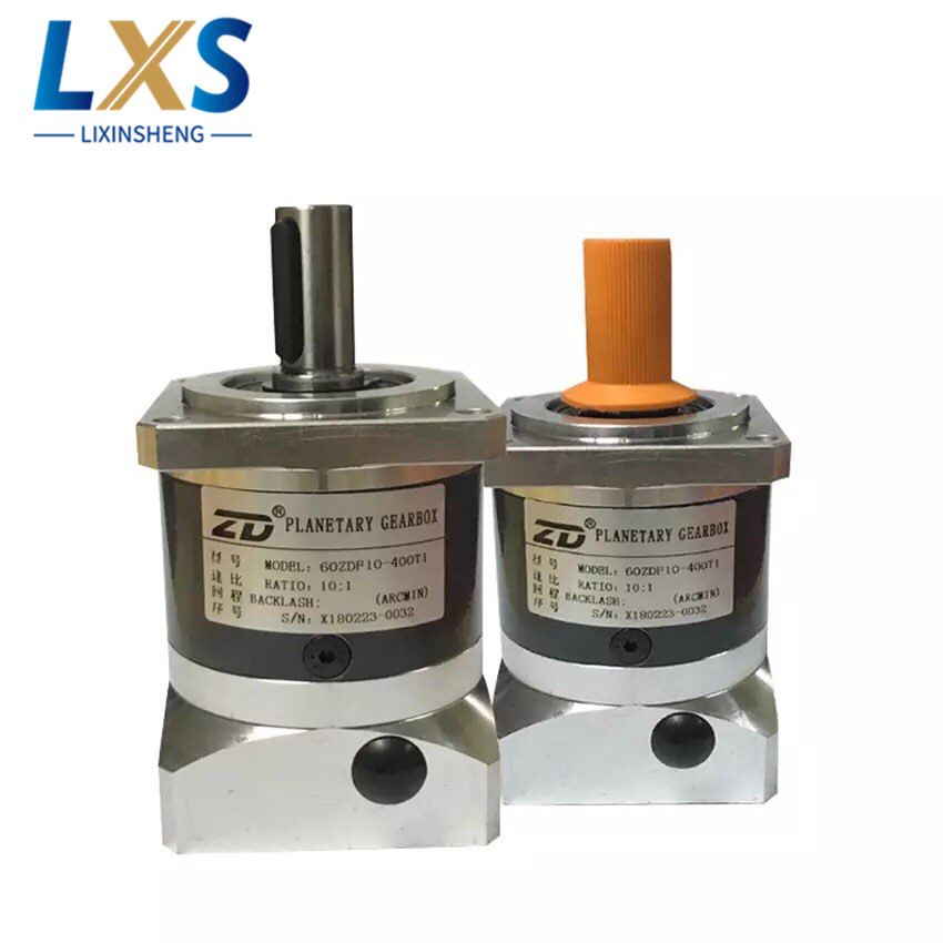 ZD Planetary Gearbox Ratio 10:1 High precision Plabetary Gear Box 60ZDF10 400T1 Industrial Servo Motor