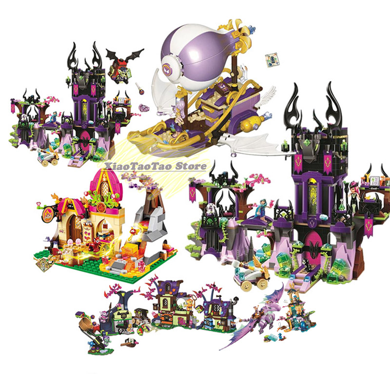 Elves 10549 Elves Dragon Sanctuary Building Bricks Blocks DIY Educational Toys Compatible with <font><b>legoinglys</b></font> Friend <font><b>41178</b></font> Friends image