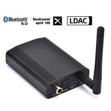 CSR8675 Bluetooth 5.0 24Bit/96K דיגיטלי אודיו מקלט Aptx Aptx HD LDAC Hifi קואקסיאלי אופטי SPDIF אלחוטי מתאם