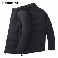 COODRONY Brand Duck Down Jacket Men Clothes 2019 New Autumn Winter Thick Warm Jackets Casual Stand Collar Coat Men Outwear 98032