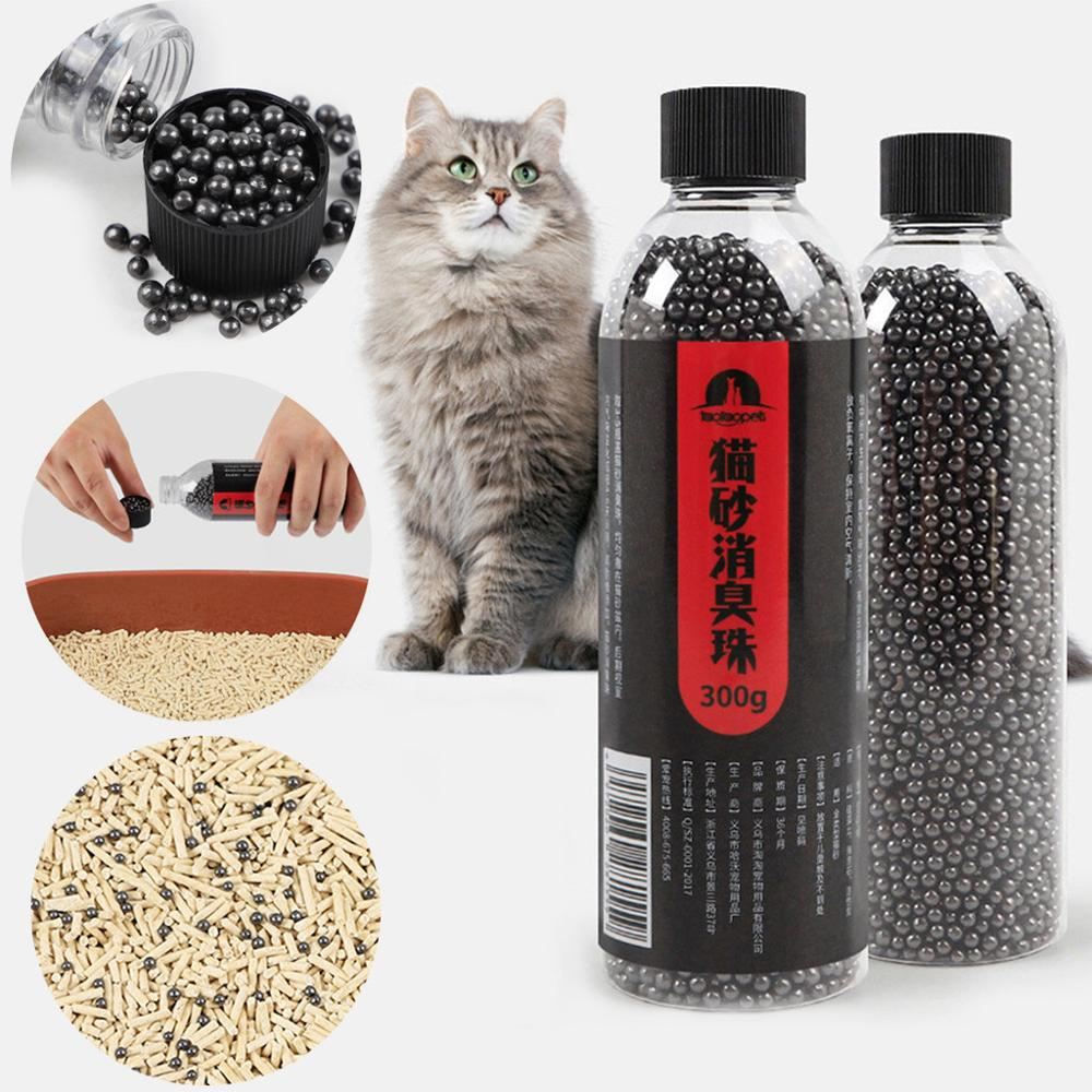 Pet Cat Litter Deodorizing Powder Removing Bamboo Charcoal Activated Carbon Box Pet Odor Neutralizer Cat Freshing Supplies