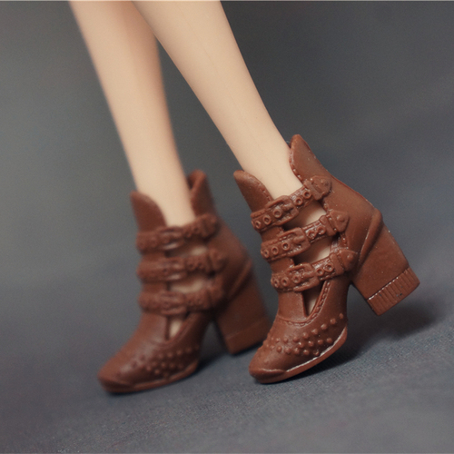Doll Shoes Mix style High Heels Sandals Boots Colorful Assorted Shoes Accessories For Barbie Doll Baby Xmas DIY Toy 9