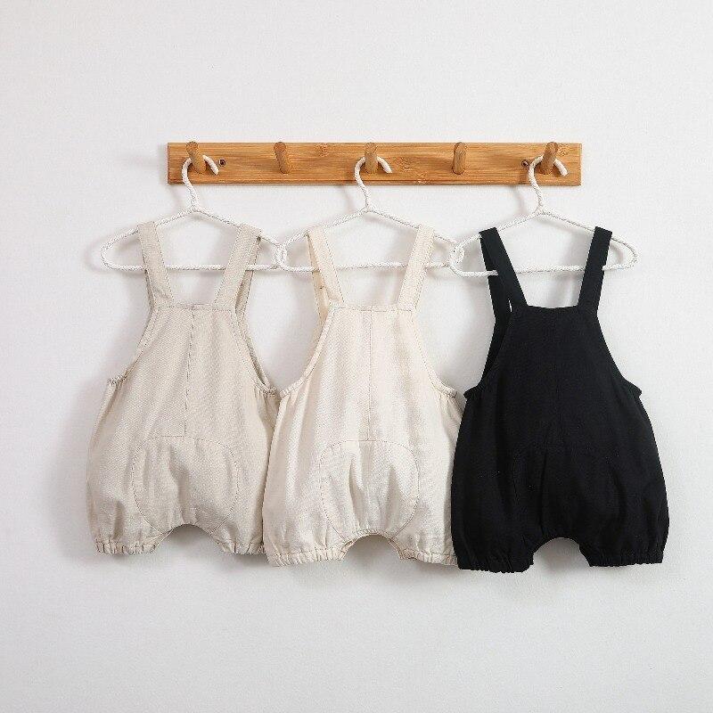 infantis meninos roupas estilo coreano bebe macacão 0-3y qz027