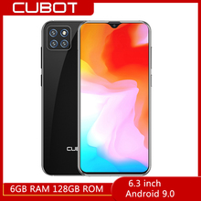 6.3 inch CUBOT X20 Pro 4G Smartphone Android 9.0 Octa Core 6GB RAM 128GB ROM 20.0MP Rear Camera 4000
