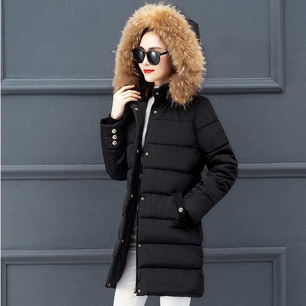 Hot sale Winter jacket   parkas   2019 autumn women new 2019 winter jacket female natural long feather jacket in the winter 802