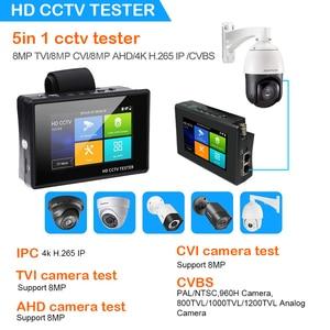 Image 3 - CCTV تستر مراقب 4K 4 بوصة H265 ipc تستر IP cctv فاحص الكاميرا s ip فاحص الكاميرا رصد المحمولة شاشة كاميرا مراقبة cctv اختبار