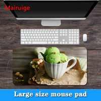 Mairuige grande promotion grande taille multi-taille délicieux modèle de crème glacée bordure PC ordinateur souris d'ordinateur portable pad