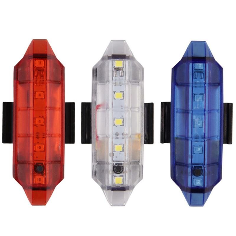 Bike Light Mountain Bicycle rights LED 4 Modes Waterproof Rear Tail Light LED USB Rechargeable Cycling Light Bike Accessories