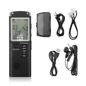 Image 3 - Профессиональный диктофон 8 ГБ, USB, 96 часов, диктофон, цифровой Аудио Диктофон с WAV mp3 плеером, записывающая ручка