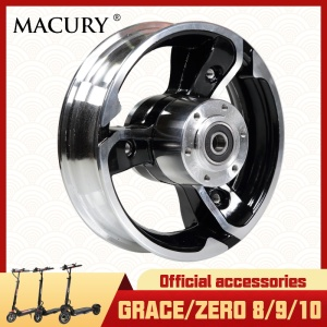 Front Wheel Hub for Grace & Zero 8 9 10 T8 T9 T10 Electric Scooter 8.5 inch Detachable Wheel Macury Original Spare Parts(China)