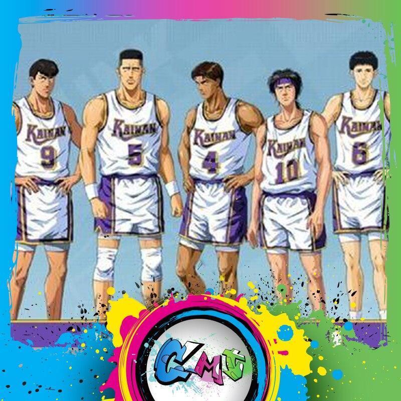 CMT Instock Dasin Model Slam Dunk Basketball Kainan Shinichi Maki  Jin Kiyota TakasagoS.H.F Action Figure Anime PVC Toys FigureAction & Toy Figures   -