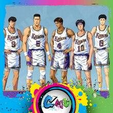 CMT Instock Dasin Model Slam Dunk basketbol Kainan Shinichi Maki Jin Kiyota Takasago S.H.F aksiyon figürü Anime PVC oyuncak figürü