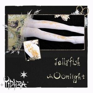 Image 2 - אור ירח מדוזה ~ מתוק לוליטה בדוגמת גרביונים גותי גרביונים