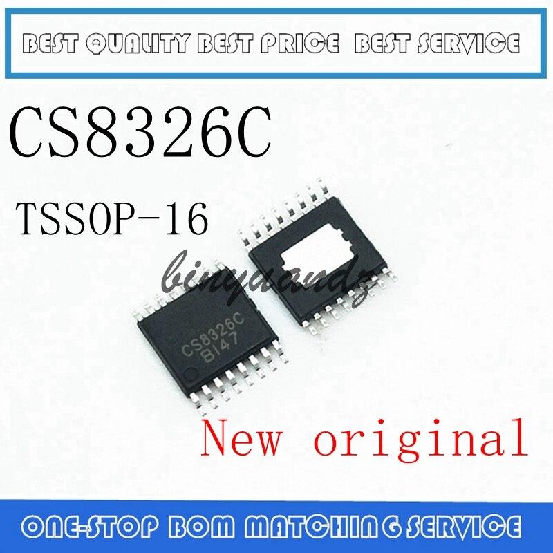 5PCS CS8326 CS8326C TSSOP-16 New Original