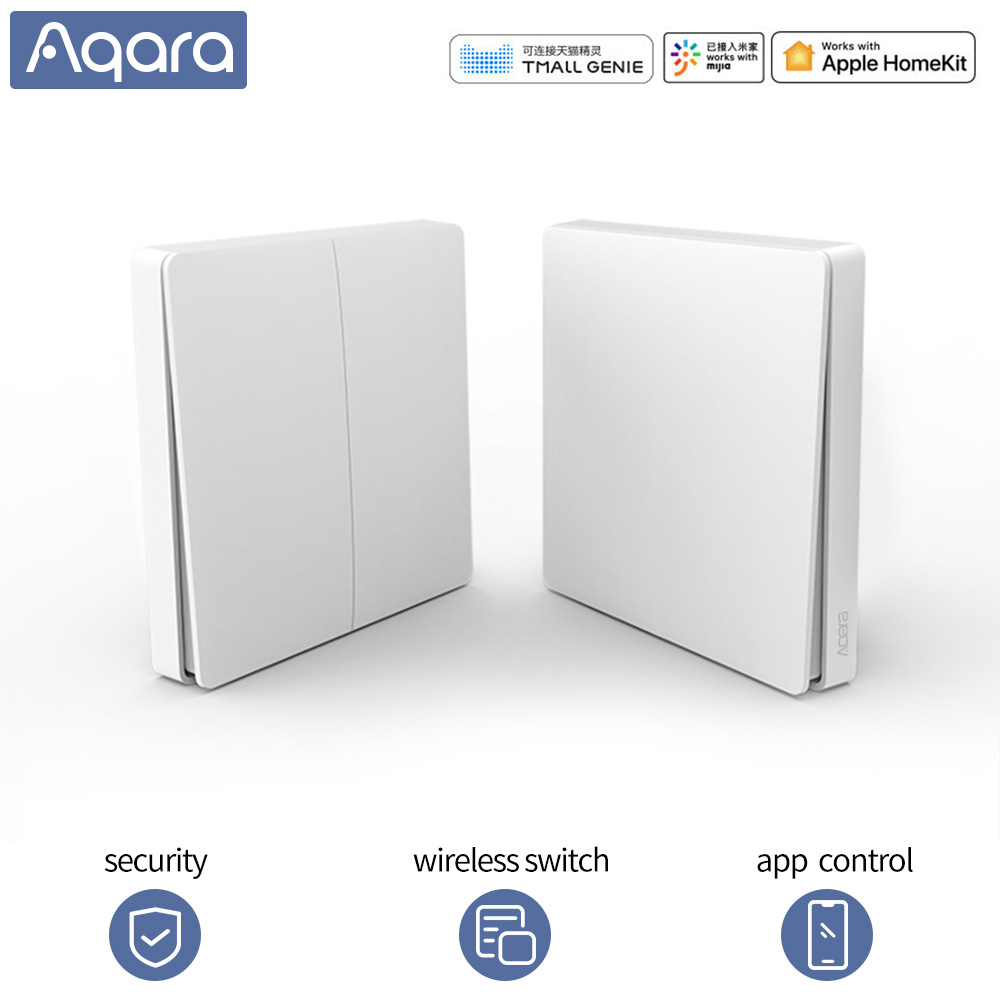 Super Promo #ab4fee Aqara Smart Switch Wireless Switch