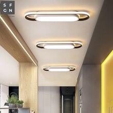 Современный светодиодный потолочный светильник, домашний потолочный светильник, внутренний светильник для прохода, балкона, спальни, кабинета, столовой